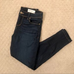 Pistola Size 26 Dark Denim Skinny Jeans